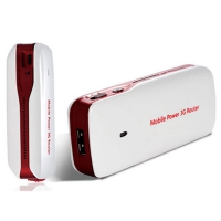 5-in-1 USB 3G Router Power Bank VWG151P